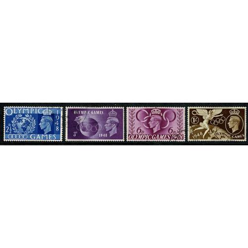 1948 Olympic Games. Set of 4 values Fine Used. SG 495-98